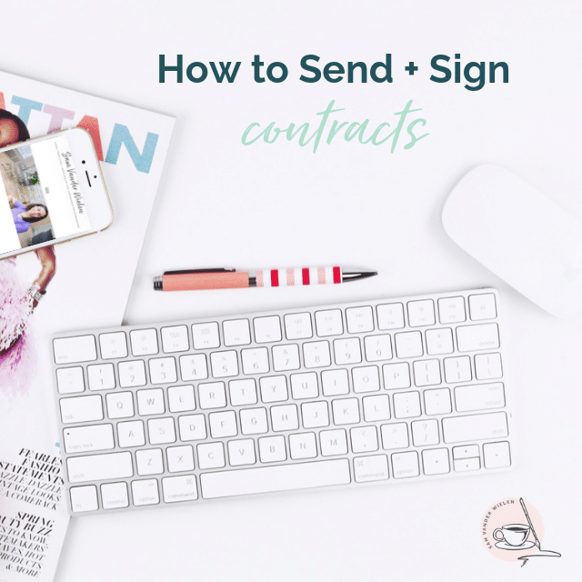 how to send a signed contract via email