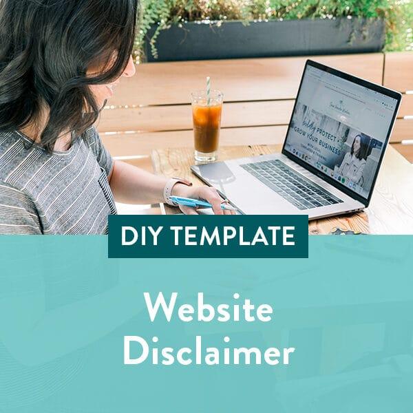Website-Disclaimer-Template