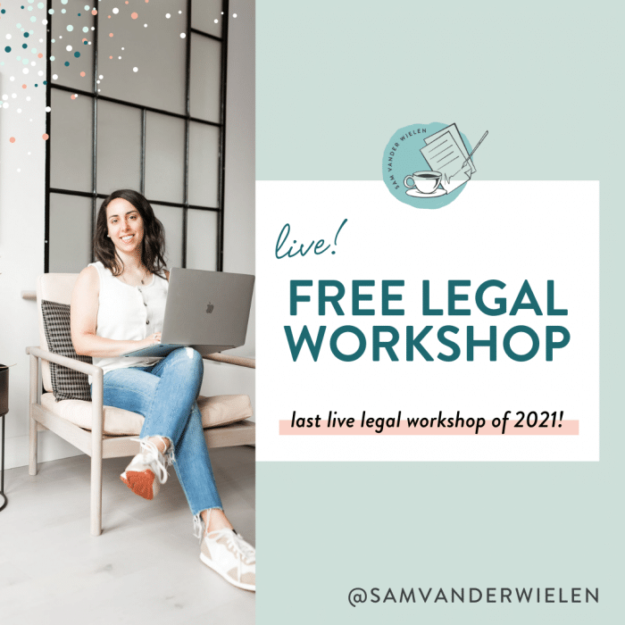 5 Steps to Legally Protect Your Online Business: Live Legal Workshop